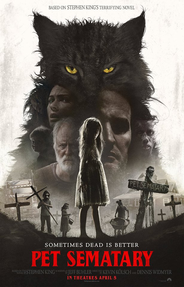 Here is a new poster for Pet Sematary to go with the new trailer. a0343694176f